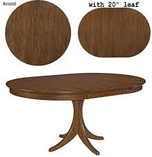 circle table with leaf round table comp round kitchen table with leaf home sweet home