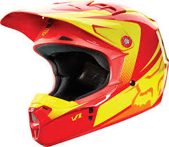 youth motocross helmet size chart fox racing 2015 v1 youth helmet imperial red yellow fox racing