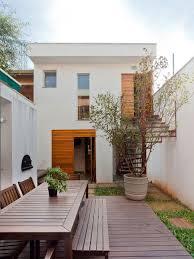 narrow contemporary house plans