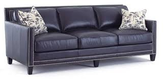 Blue Leather Chair Navy Blue Leather Sofa Awesome As Sofa Sleeper For Sofa Cushions