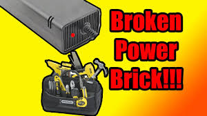 xbox 360 red light fix how to fix xbox 360 power block brick red light problem youtube