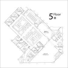 fitness center floor plan design floor plan 5f jpg