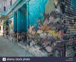 aquarium painted on pet store wall stock photo royalty free image stock photo aquarium painted on pet store wall