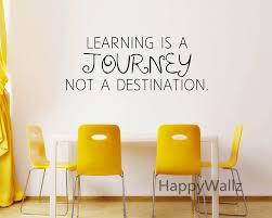 compare prices on wall sticker motivational quote online shopping motivational quote wall sticker learning is a journey not a destination diy inspirational quote wall art