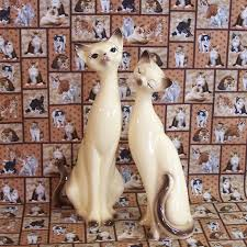85 best siamese cat figurines images on siamese cats
