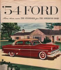 Vintage Ford Truck Brochures - 1954 ford sales brochure