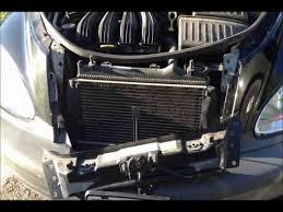 chrysler pt cruiser radiator fan pt cruiser radiator fan youtube