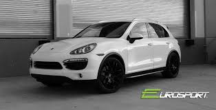 porsche cayenne black wheels 22 imola wheels matte black finish on porsche cayenne
