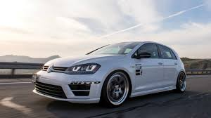 modified 2016 vw mk7 golf r review u0026 race vs stock youtube