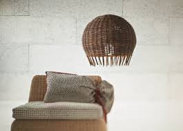 Wicker Pendant Light by Rattan Pendant Lamp Croco 96 By Gervasoni Design Paola Navone