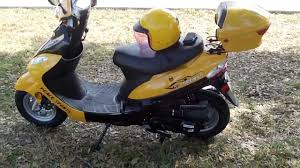 chinese scooters the peace sports 50cc review youtube