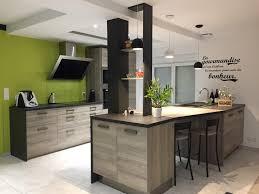 laval étagères en bois cuisines contemporaines et style