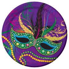 mardi gras mask and mardi gras masks dessert plates 8 pack target