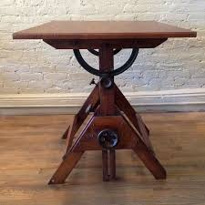 Small Drafting Table Vintage Small Maple Wood Drafting Table Cityfoundry