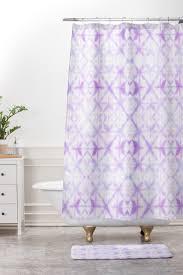 light purple shower curtain agadir pastel purple shower curtain and mat amy sia