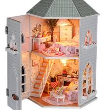 Build Your Own Toy Box Kit by Aliexpress Com Buy Diy Wooden Doll House Miniature Model