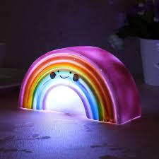 Rainbow Home Decor by Rainbow Shape Children Kid Baby Cute Led Night Light Table Lamp