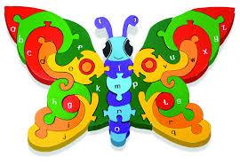 alphabet butterfly abc learning for kids alphabet jigsaws