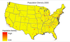 Population Map Of The United States by Attributes For Nhdplus Catchments Version 1 1 For The