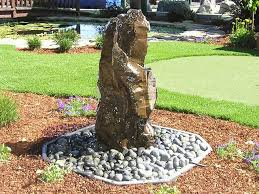 Rock Garden With Water Feature Stylish Ideas Rock Water Fountains Adorable 1000 Ideas About Rock