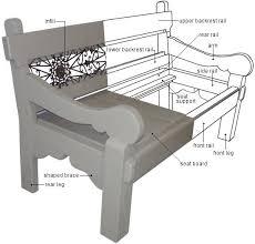park bench dimensions treenovation
