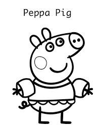 peppa pig drawing templates 28 images free coloring pages