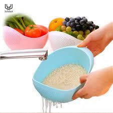 plastique cuisine luluhut la cuisine laver le riz pot en plastique égouttoir légumes