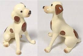 identify antique and collectable pottery dogs cajun collection