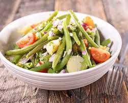 cuisine de az minceur salade minceur de pommes de terre haricots verts jambon cuisine az