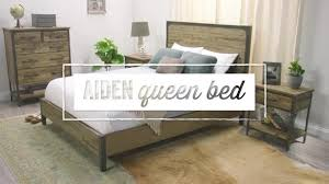 World Market Headboards by Wood And Metal Aiden Bed World Market