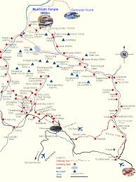 Show Me A Map Of Nepal by History Of Nepal About Of Muktinath Temple