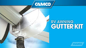 Rv Awning Protector Rv Awning Gutter Kit From Camco Youtube