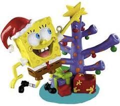 spongebob tree ornament thlog