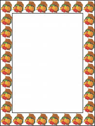 free thanksgiving border 2 gclipart