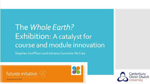 Modulk He Whole Earth Using An Exhibition As A Catalyst For Innovation In
