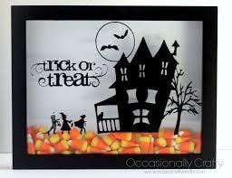 sister u0027s challenge candy corn crafts valerie u0027s shadowbox