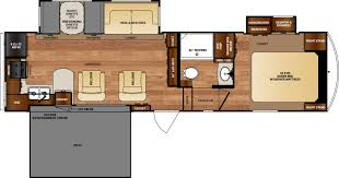 R Pod Floor Plans Wildcat Fifth Wheels Floorplans By Forest River Rv Colonia Del