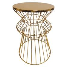 Gold Side Table Stylish Gold Side Table At Target Iron Wire Side Table And Target