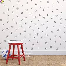 compare prices on children playroom furniture online shopping buy little aircraft airplane wall sticker baby nursery kids room cartoon plain wall decal playroom child room