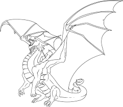 realistic dragon coloring page free download
