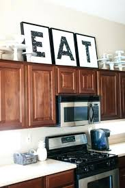 top of kitchen cabinet decorating ideas wall ideas country kitchen wall decor kitchen wall