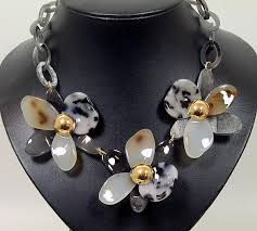 coloured flower necklace images Statement necklaces fashion jewellery wholesale western counties jpg