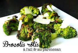 cuisiner brocolis frais brocolis rôtis à l ail et au parmesan cookismo recettes saines