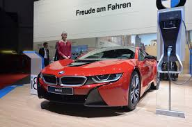 Bmw I8 Red - 2017 bmw i8 to have more power and longer range gtspirit