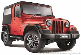 indian jeep mahindra 2015 mahindra thar facelift launched at inr 8 03 lakhs