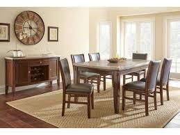 Steve Silver Dining Room Furniture Steve Silver Dining Room Eileen Marble Top Dining Table Ee500t