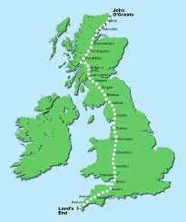 Map Sliding Thought Blog by Walking John O U0027groats To Lands End U2026slowly U2013 A Little Picture Blog
