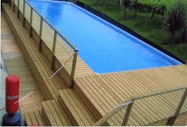 rivestimento in legno per piscine fuori terra piastrelle per piscina fuori terra articoli per piscine e accessori
