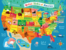map usa jigsaw map of usa jigsaw linzie illustrator and lettering