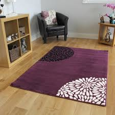 Modern Rugs by Small Large Purple Aubergine Modern Rugs Quality Soft Floral